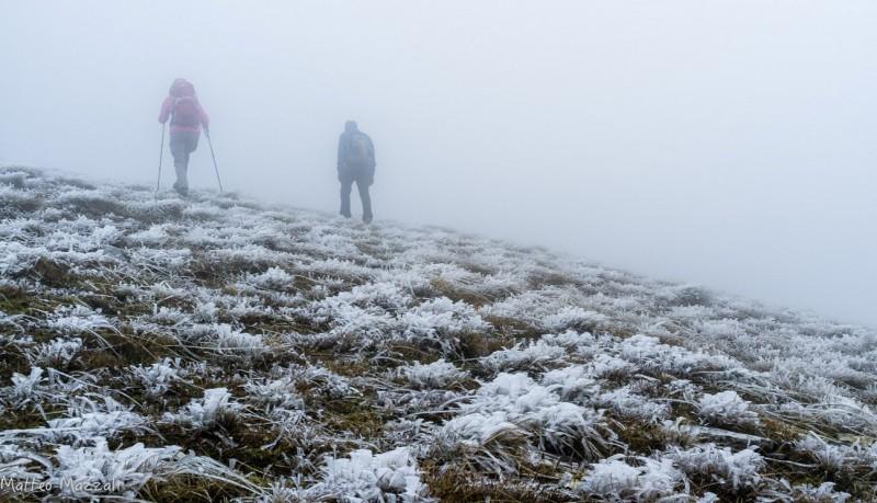 Nebbia in montagna