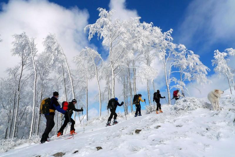 scialpinismo sui Monti della Laga