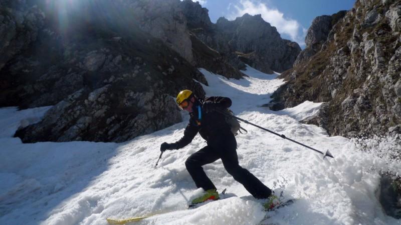 scialpinismo in Majella