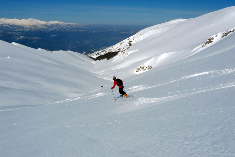 scialpinismo sui monti gemelli