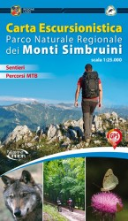 carta escursionistica parco monti Simbruini