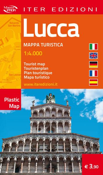 Lucca carta stradale e turistica