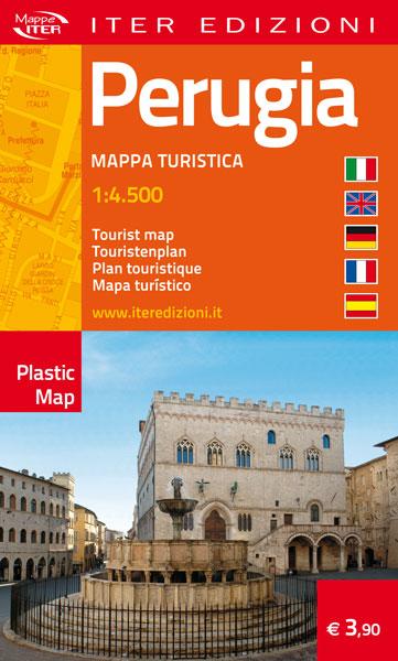 Perugia carta stradale e turistica