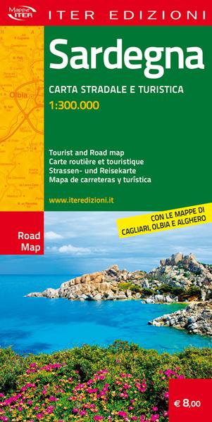mappa sardegna carta stradale turistica
