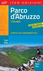 Mappa Parco d'Abruzzo