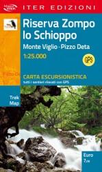 carta escursionistica riserva Zompo Lo Schioppo