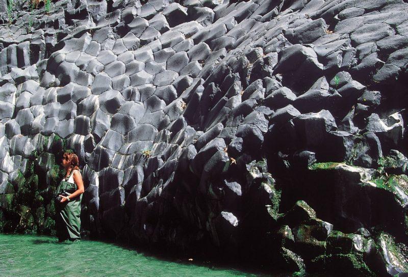 Acque e basalti dell'Alcantara