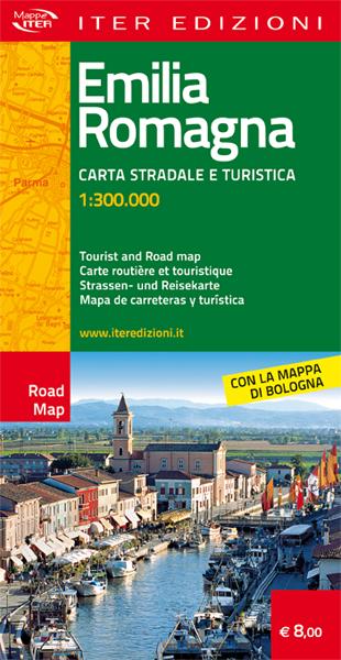 Emilia Romagna carta stradale e turistica