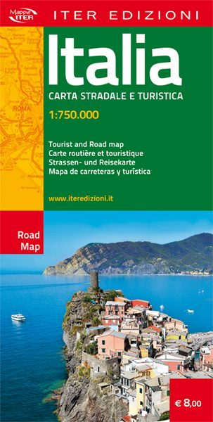 Italia carta stradale e turistica
