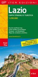 Lazio carta stradale e turistica