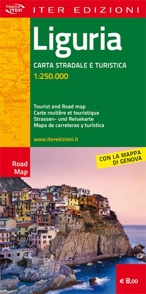 Liguria carta stradale e turistica