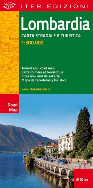 Lombardia carta stradale e turistica