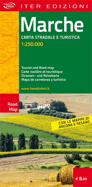 Marche carta stradale e turistica