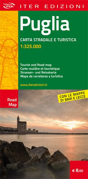 Puglia carta stradale e turistica