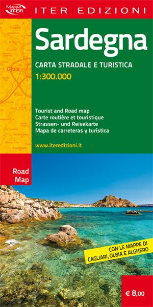 Sardegna carta stradale e turistica