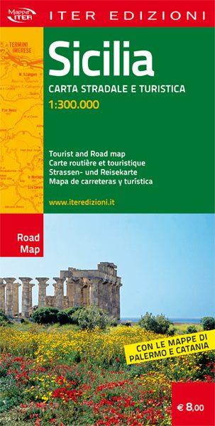 Sicilia carta stradale e turistica