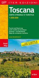 Toscana carta stradale e turistica