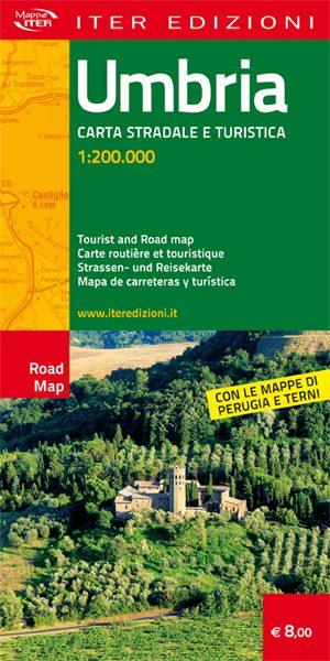 Umbria carta stradale e turistica