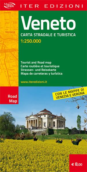 Veneto carta stradale e turistica