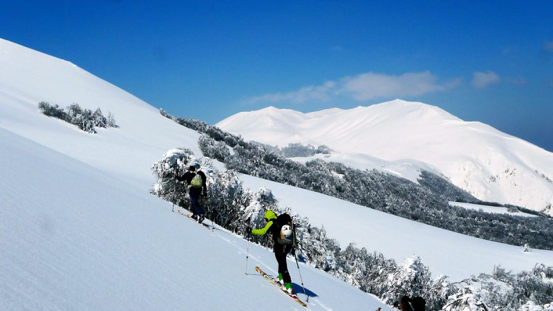 scialpinismo Majella: itinerario dal Monte Mileto a Monte Le Mucchia