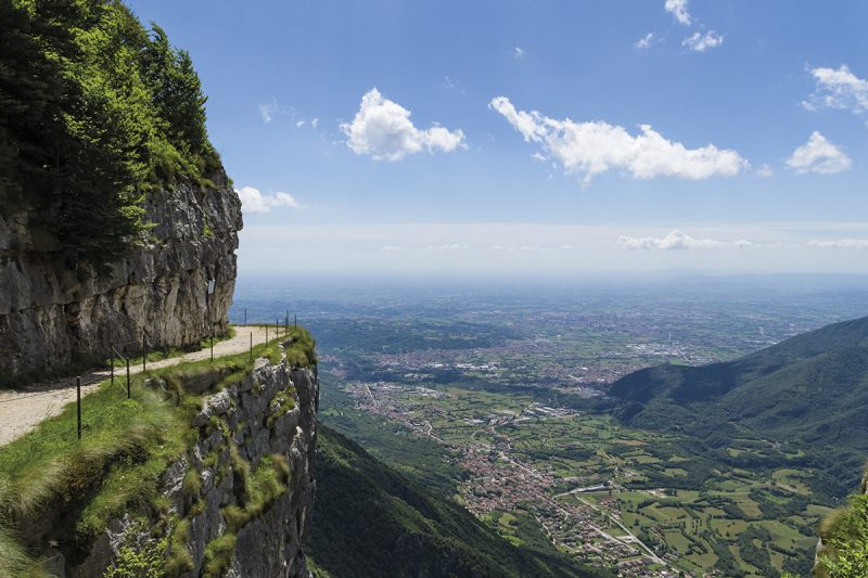 Monte Cengio, Salto del Granatiere