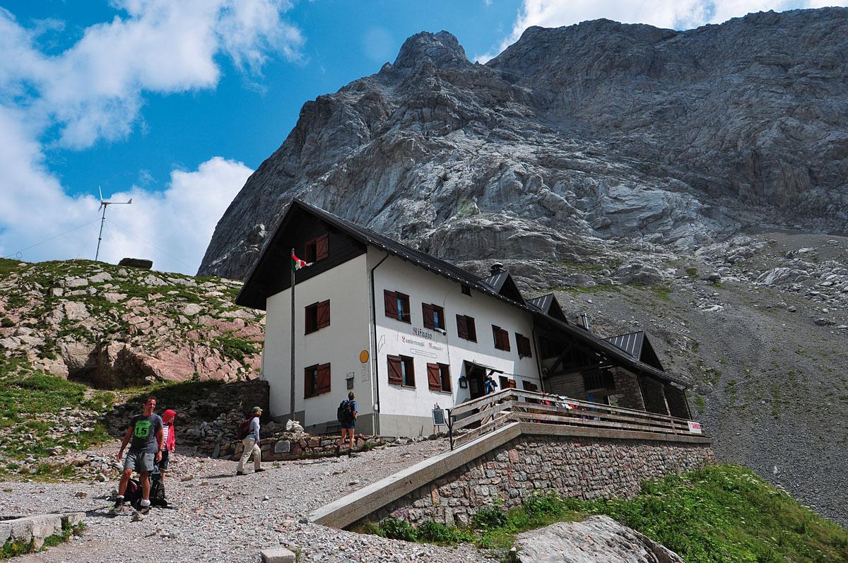 Rifugio Lambertenghi-Monte Coglians