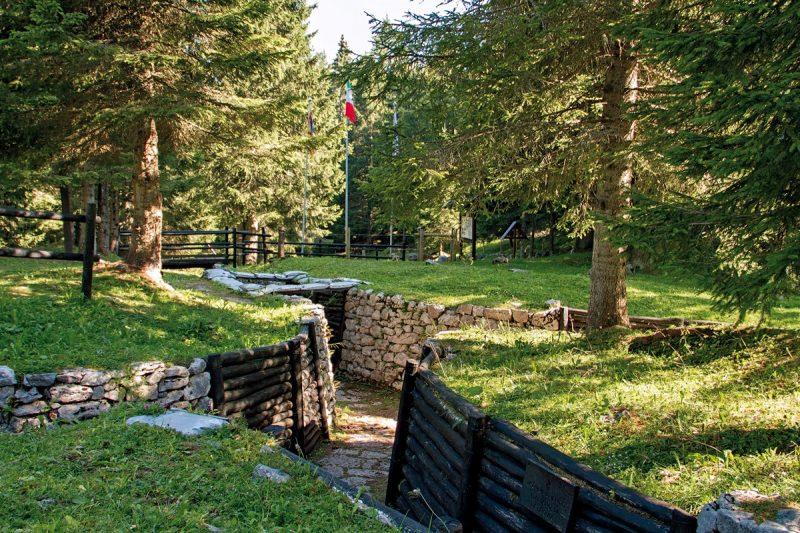 Trincea didattica sul Monte Zebio