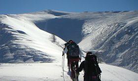 Monte Argatone, scialpinismo parco Abruzzo