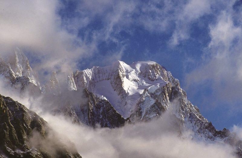 Le Grandes Jorasses dalla Val Veny