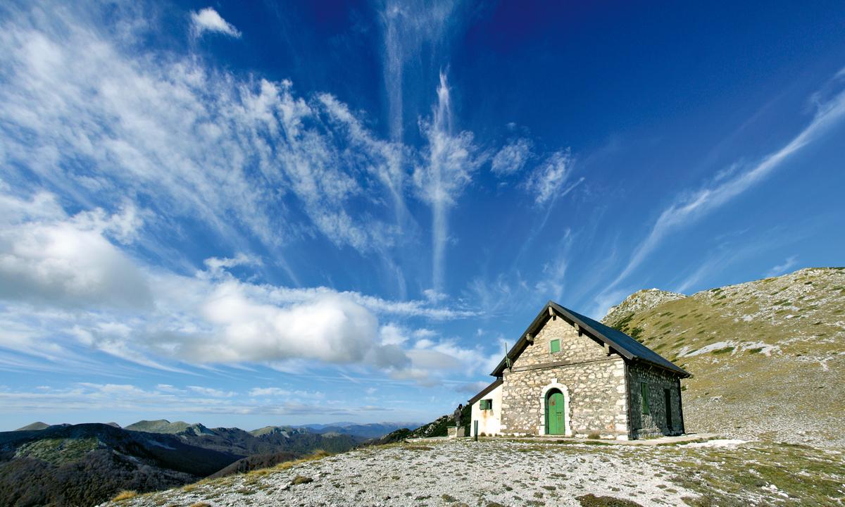 Forca Resuni, itinerario dalla Val Canneto