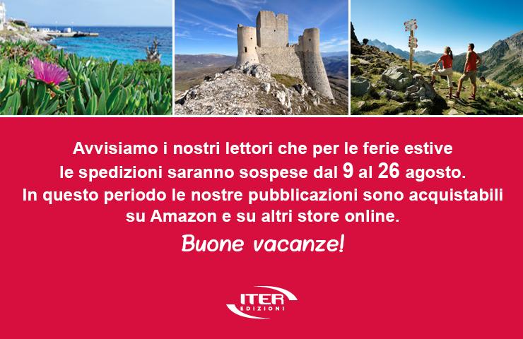 Iter Edizioni - Chiusura per ferie