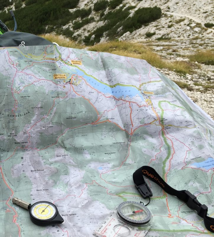 leggere una carta escursionistica
