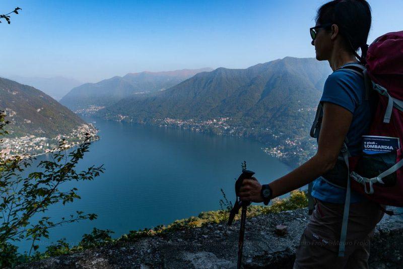escursione Torno - belvedere da Montepiatto