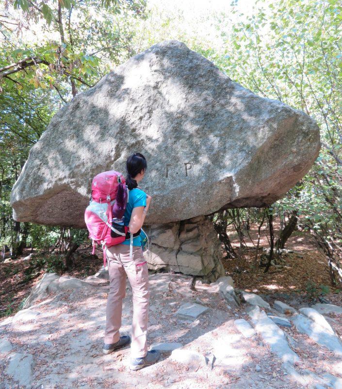 pietra pendula - escursione Torno
