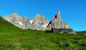 escursione sulle pale di san Martino