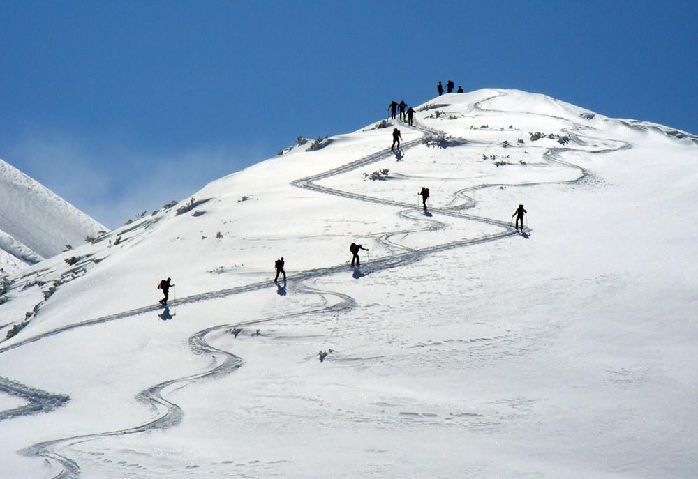 scialpinismo sul monte rapina