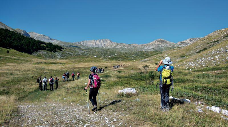 trekking Rifugio Sebastiani