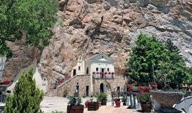 a piedi Santuario Santissima Trinità